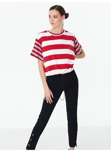 Twist Bluz Kırmızı